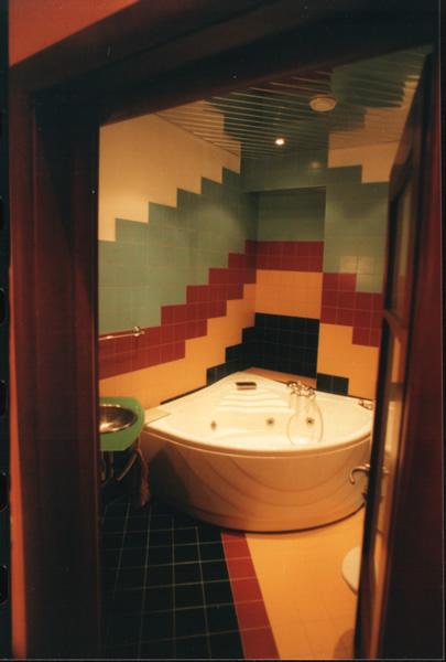 Ремонт в ванной в корабле
